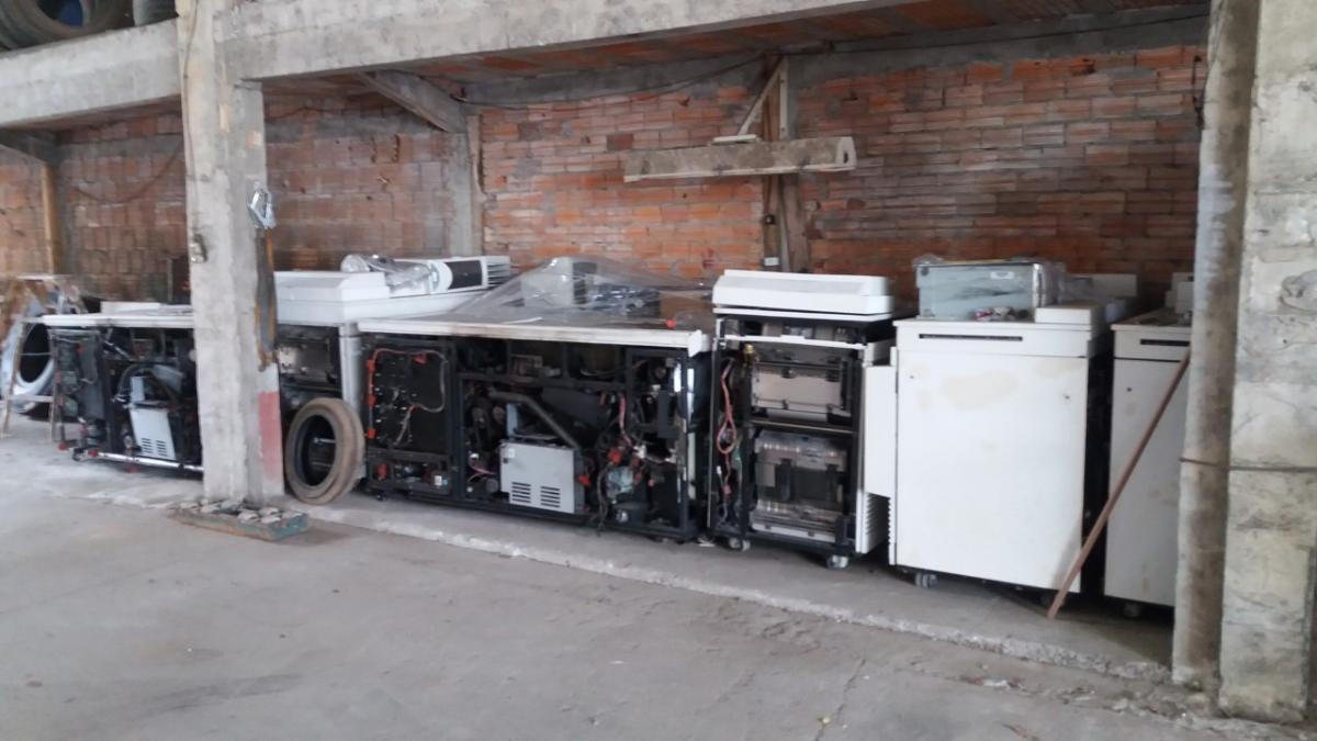 VENDA DIRETA JUSTIÇA FEDEERAL- Impressora marca Xerox, modelo Docucolor 252 com todos os acessórios,